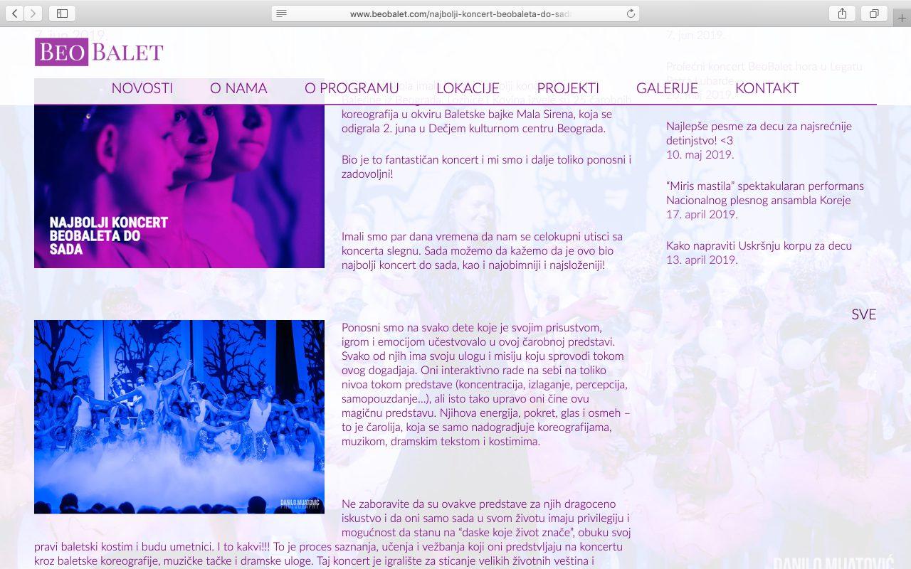 Kilmulis design - BeoBalet - website 04