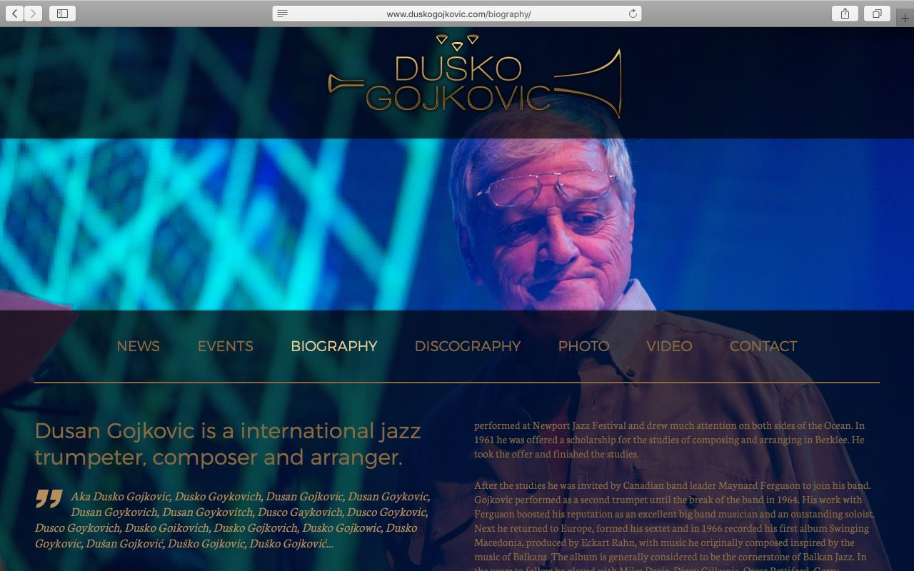 Kilmulis design - Dusko Gojkovic - website 04