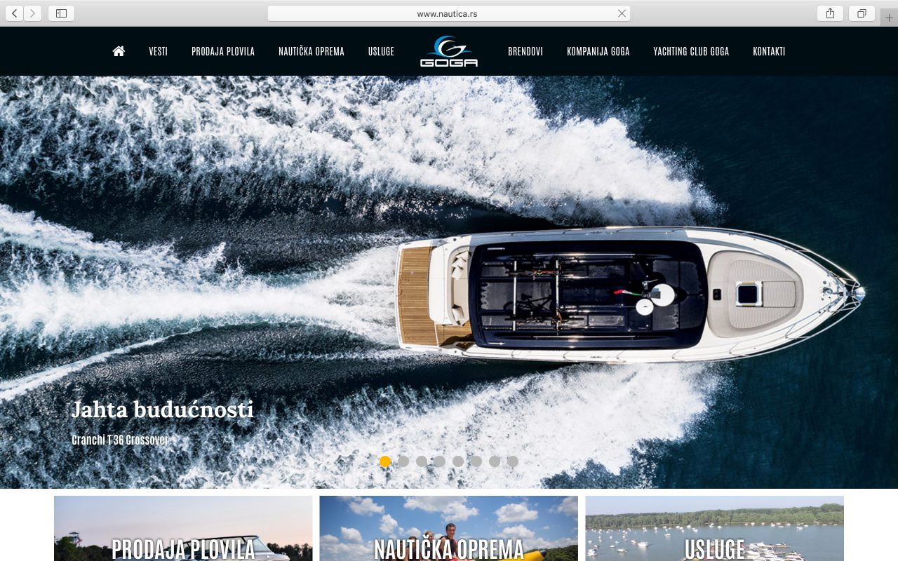 Kilmulis design - Goga Yachting Club - website 03