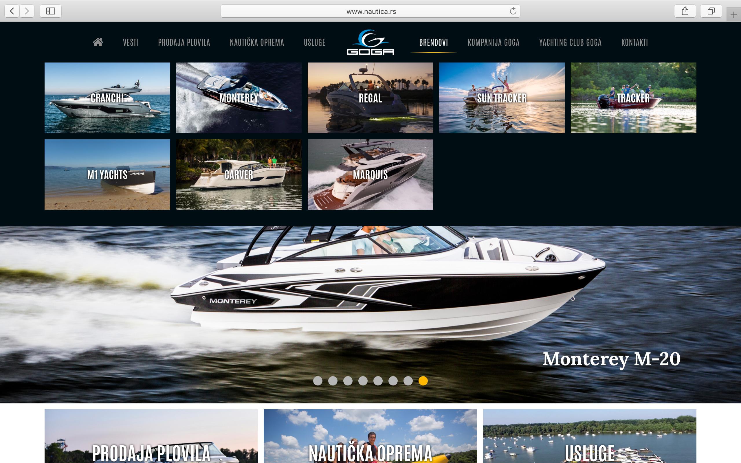 Kilmulis design - Goga Yachting Club - website 05