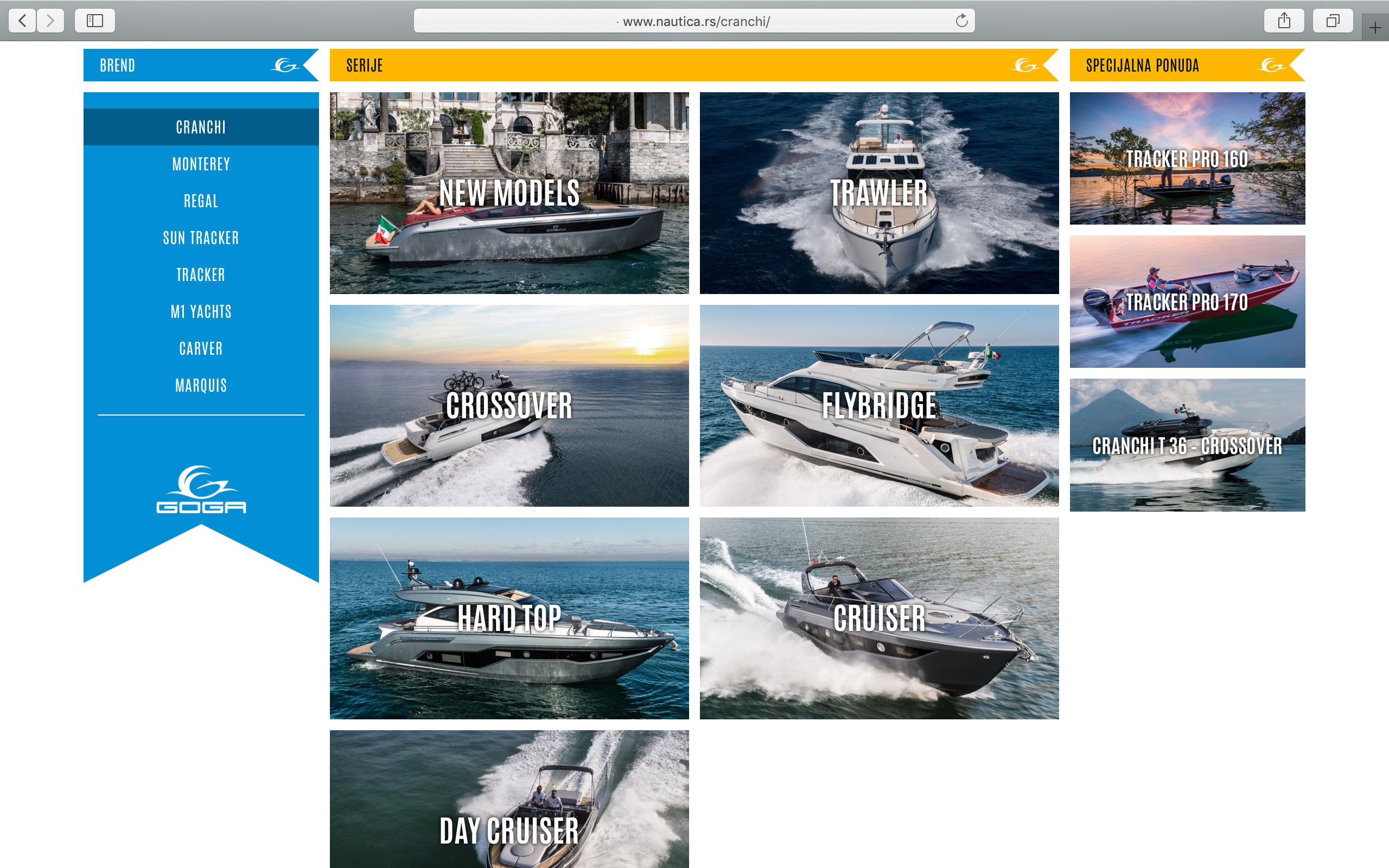 Kilmulis design - Goga Yachting Club - website 06