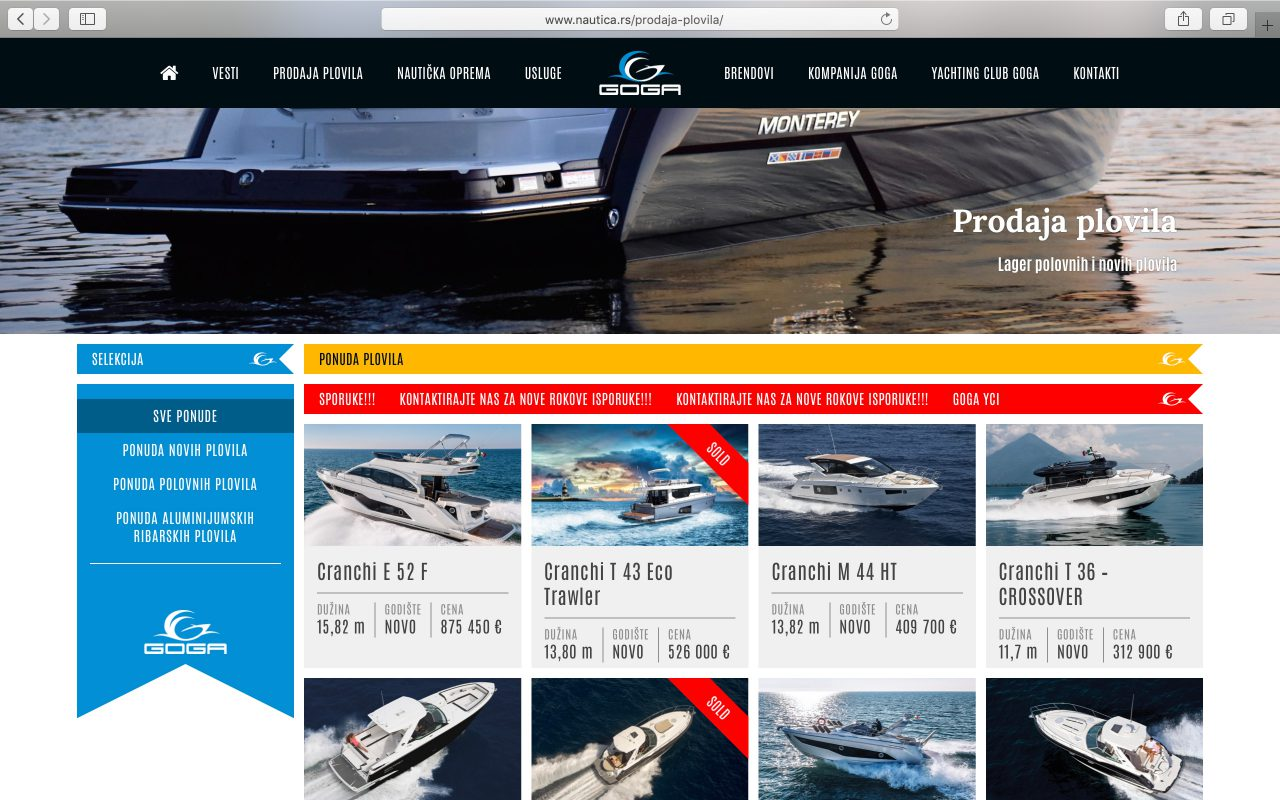 Kilmulis design - Goga Yachting Club - website 08