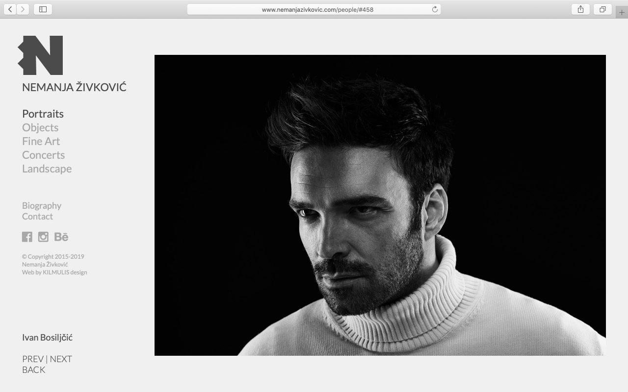 Kilmulis design - Nemanja Zivkovic - website 04
