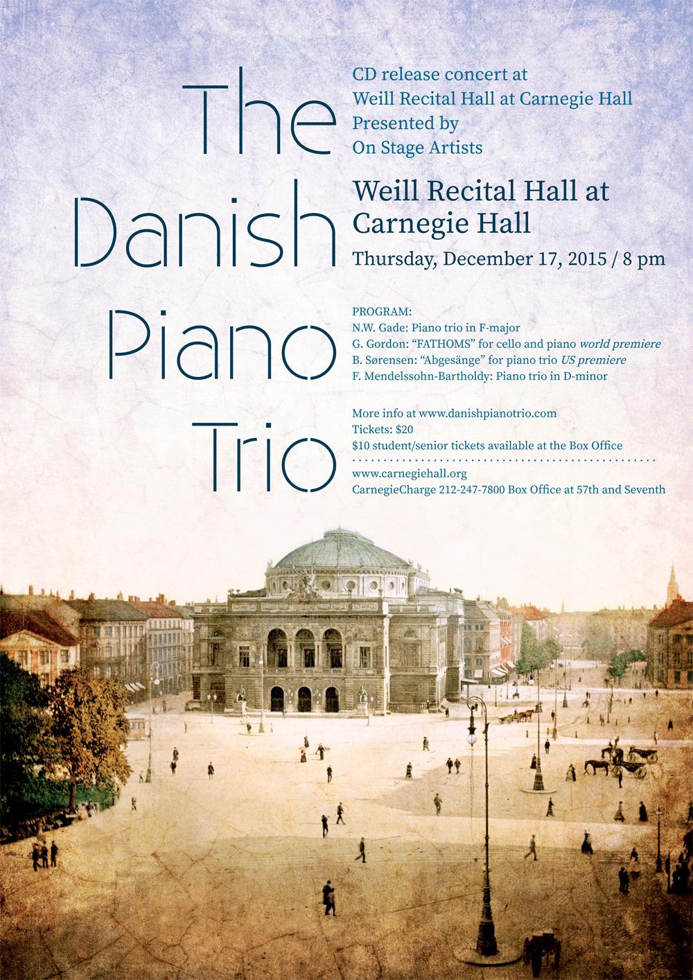 Kilmulis design - The Danish Piano Trio - poster 03