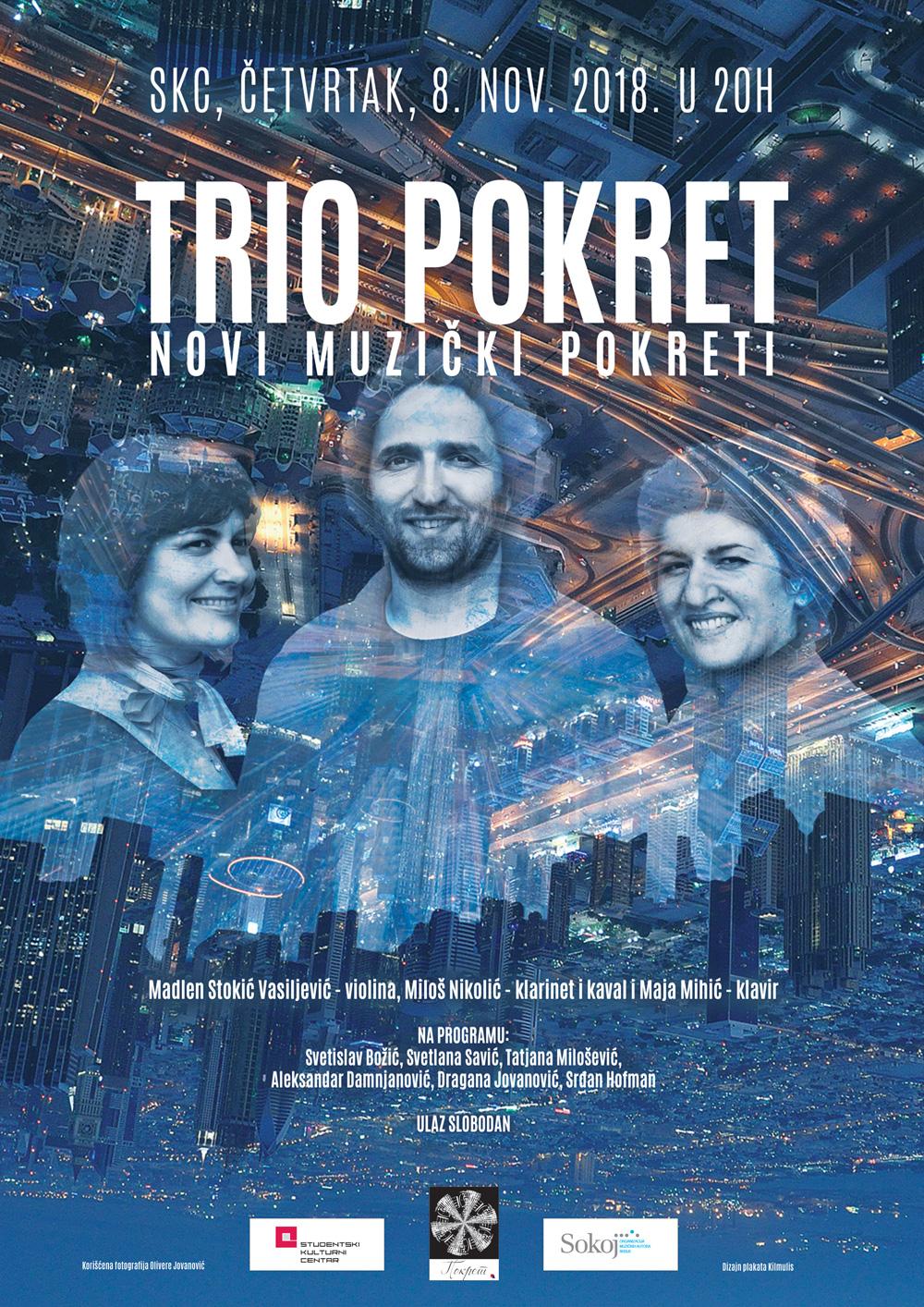 Kilmulis design - Trio Pokret - poster 03
