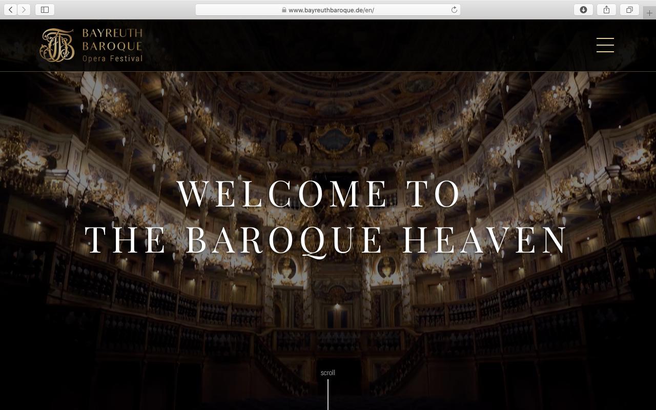 Kilmulis design - Bayreuth Baroque Opera Festival - website 01