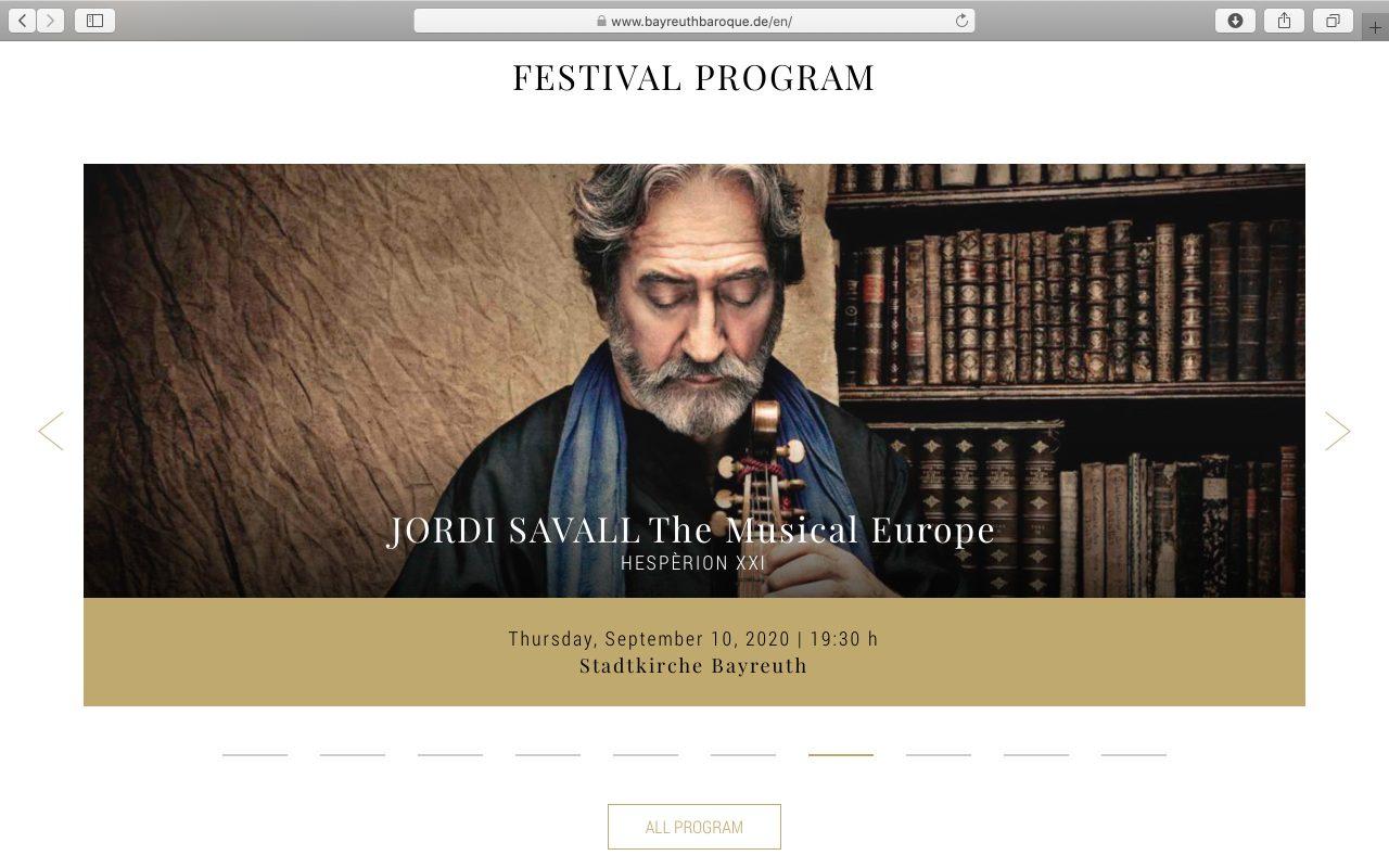 Kilmulis design - Bayreuth Baroque Opera Festival - website 03