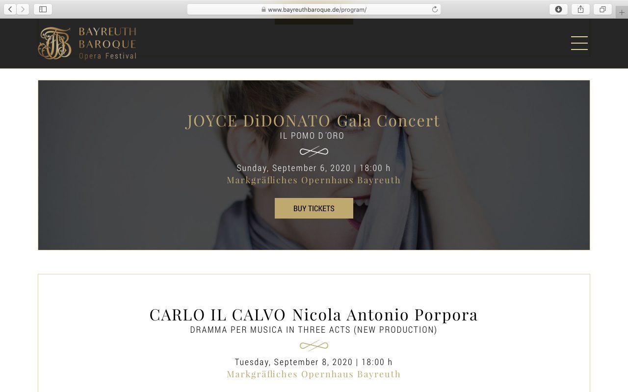 Kilmulis design - Bayreuth Baroque Opera Festival - website 04