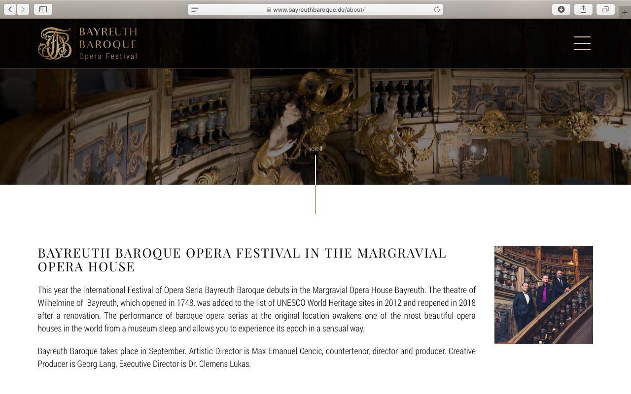 Kilmulis design - Bayreuth Baroque Opera Festival - website 09