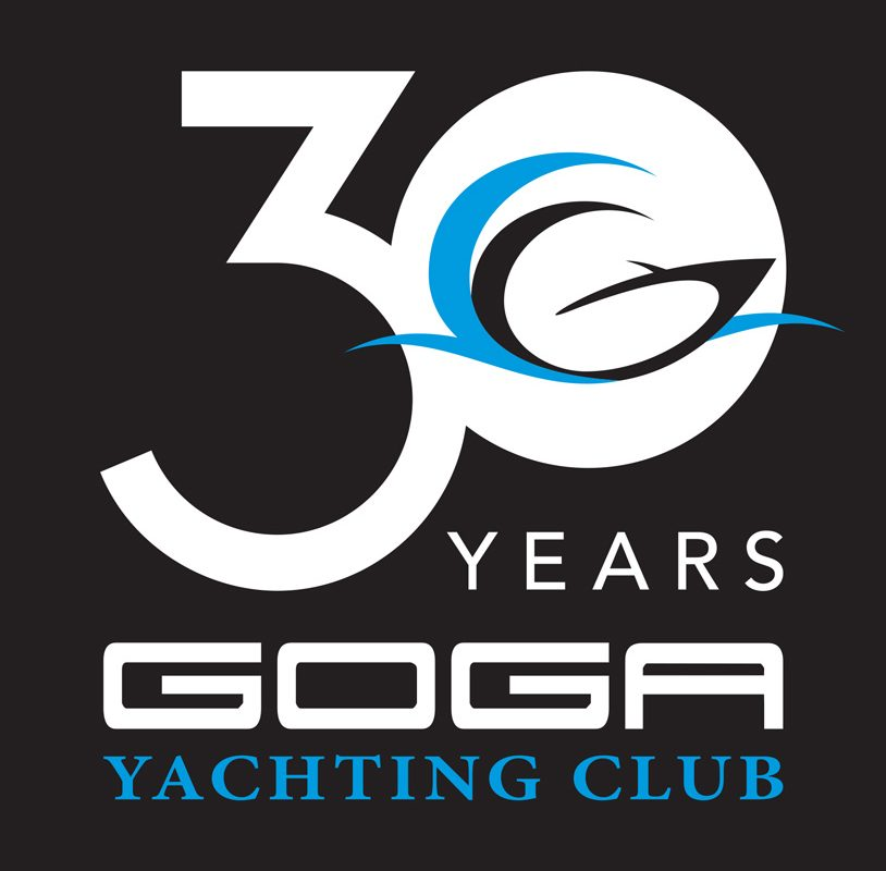 Kilmulis design Goga Yachting Club 30 years logo 03