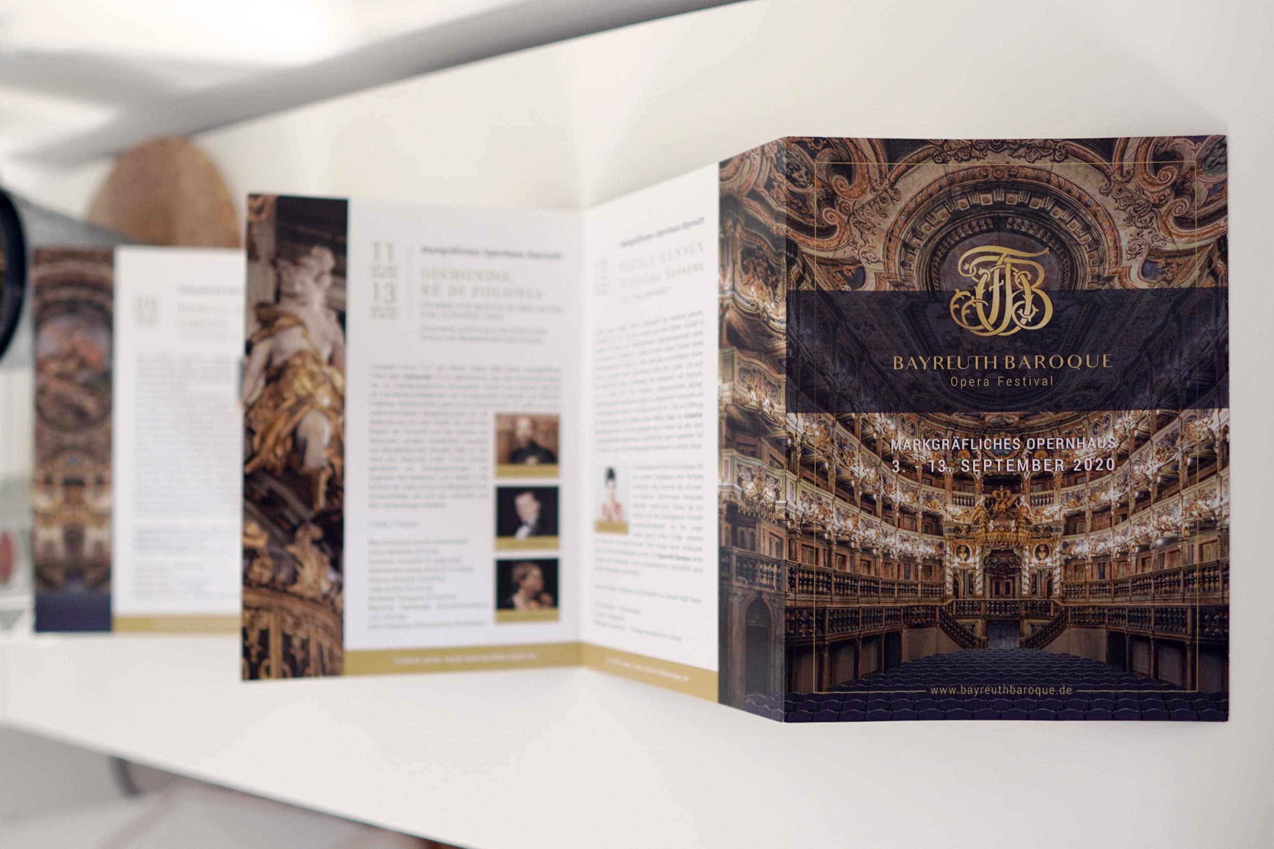 Kilmulis design Bayreuth Baroque Opera Festival Brochure