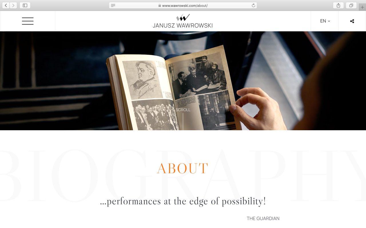 Kilmulis design Janusz Wawrowski website 02