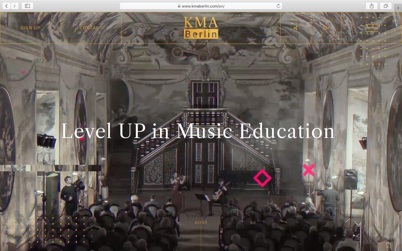Kilmulis design KMA Berlin website 01