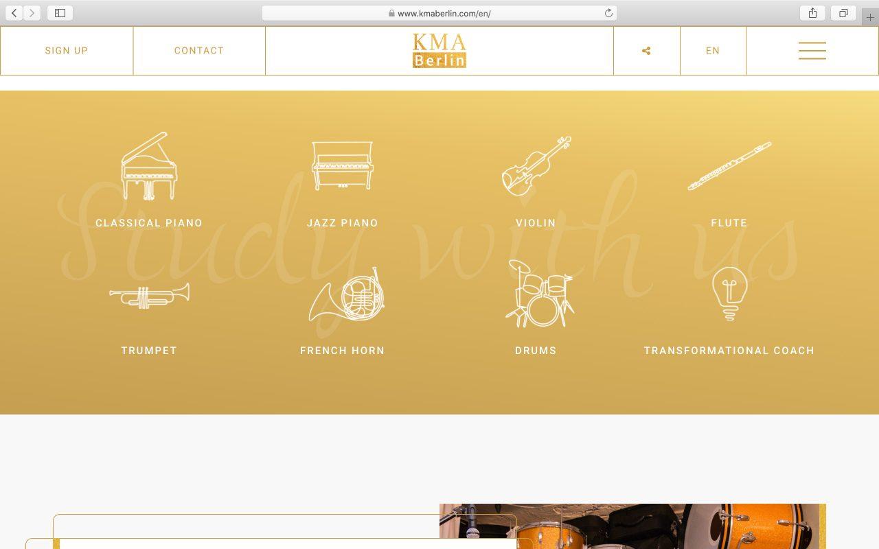 Kilmulis design KMA Berlin website 03
