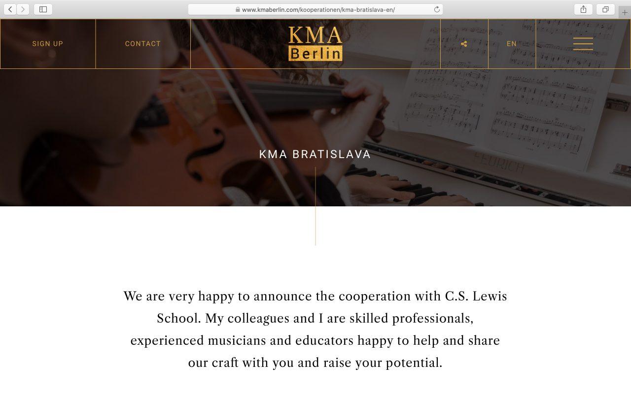 Kilmulis design KMA Berlin website 09