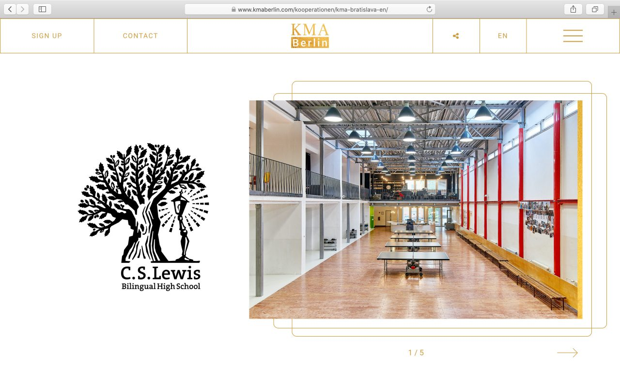 Kilmulis design KMA Berlin website 10