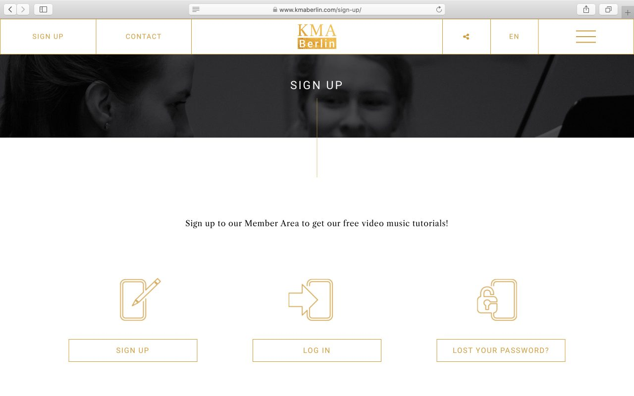 Kilmulis design KMA Berlin website 12