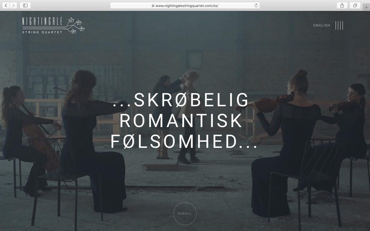 Kilmulis design Nightingale String Quartet website 01