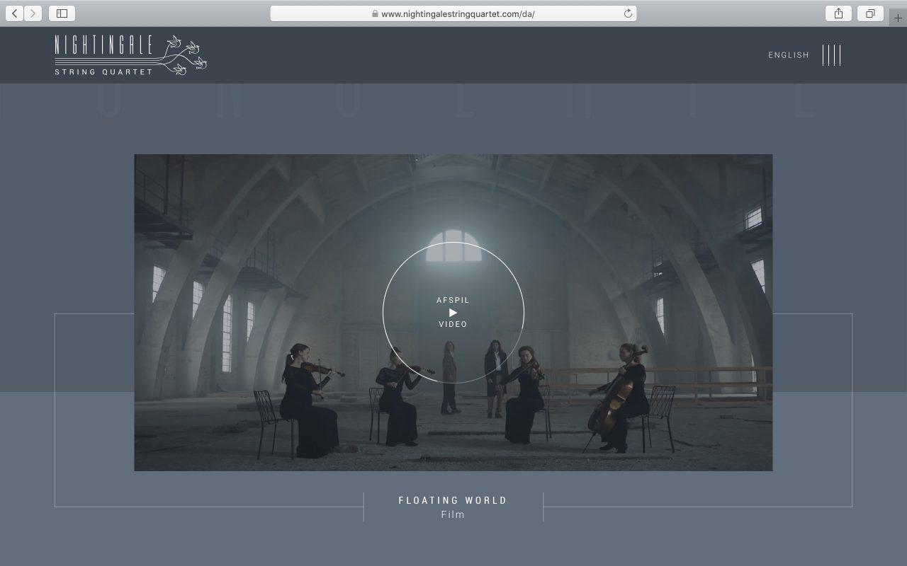Kilmulis design Nightingale String Quartet website 02