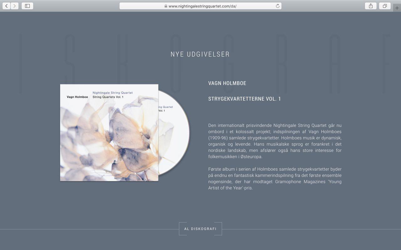 Kilmulis design Nightingale String Quartet website 03
