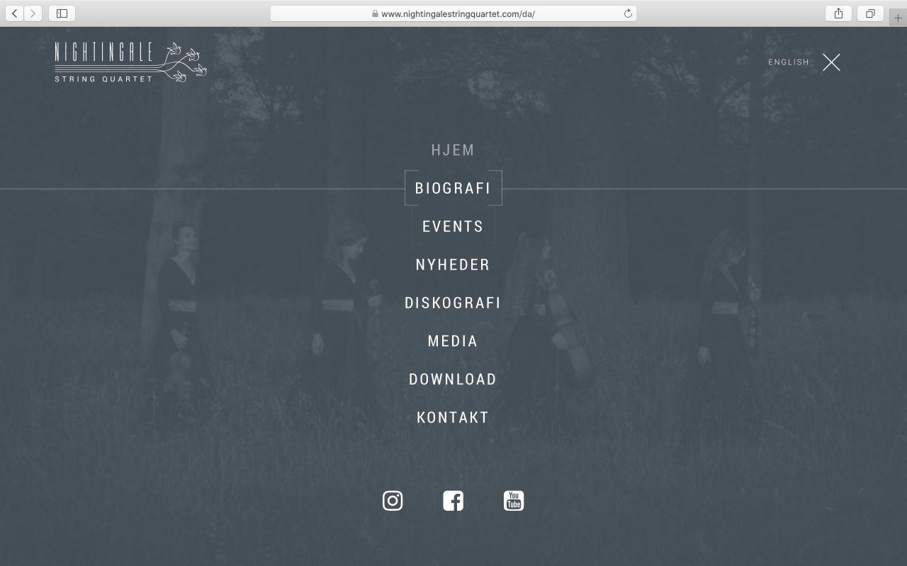 Kilmulis design Nightingale String Quartet website 04