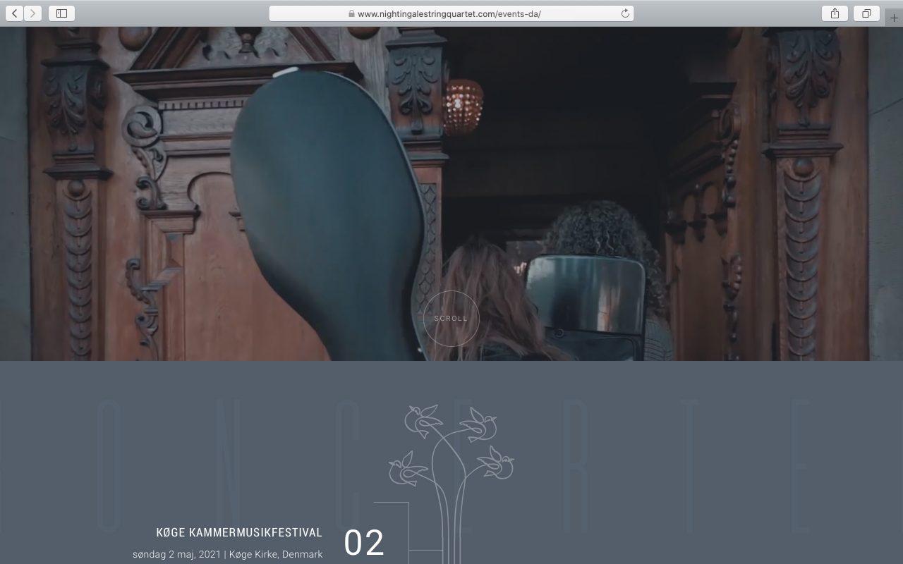 Kilmulis design Nightingale String Quartet website 05