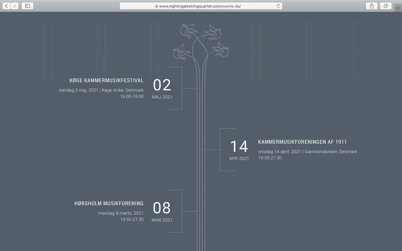 Kilmulis design Nightingale String Quartet website 06