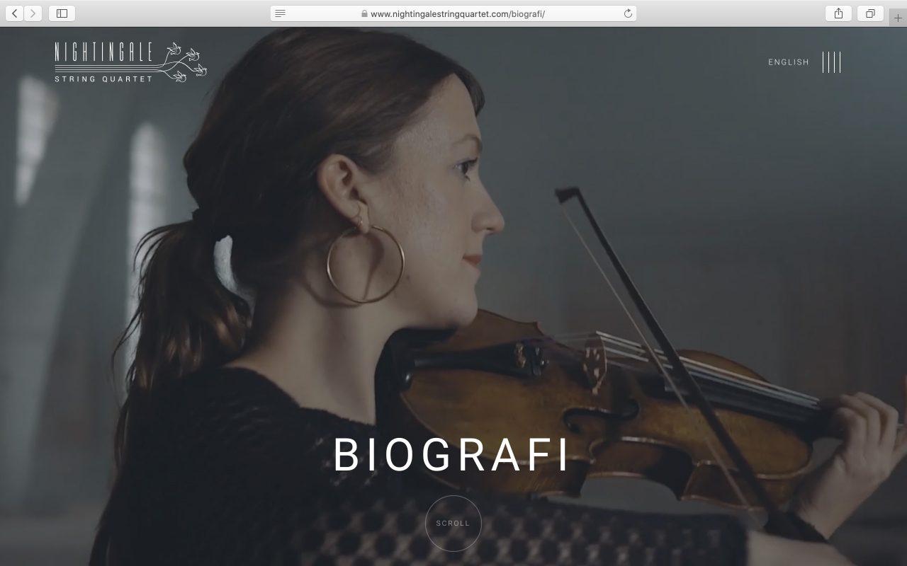 Kilmulis design Nightingale String Quartet website 07
