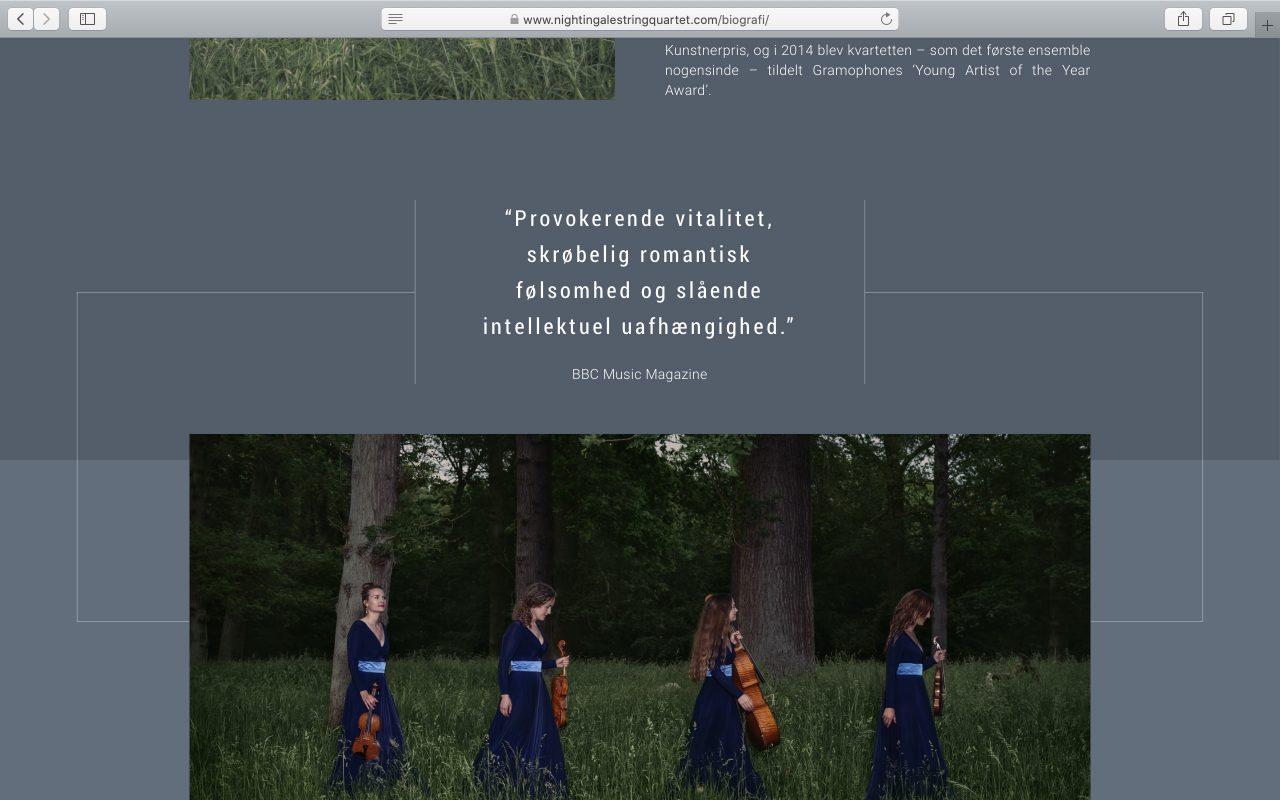 Kilmulis design Nightingale String Quartet website 08