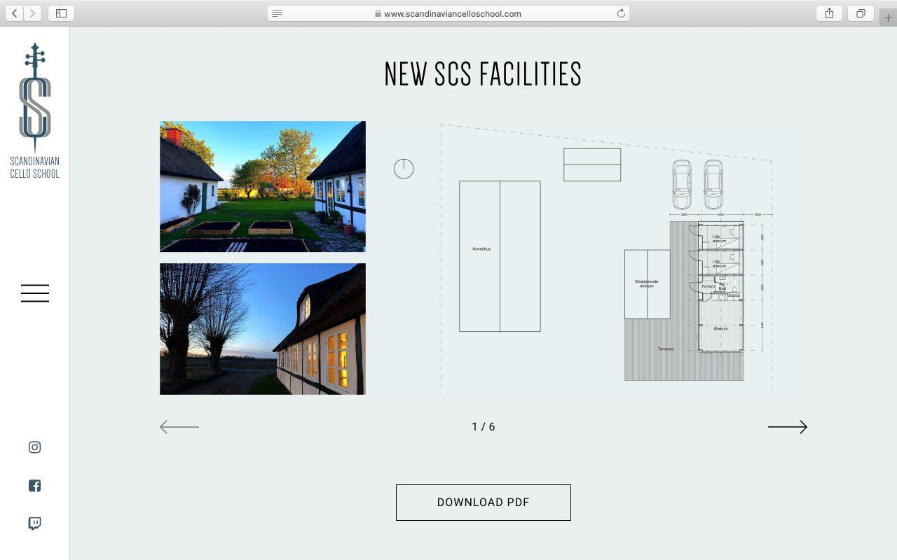 Kilmulis design Scandinavian Cello School website 03