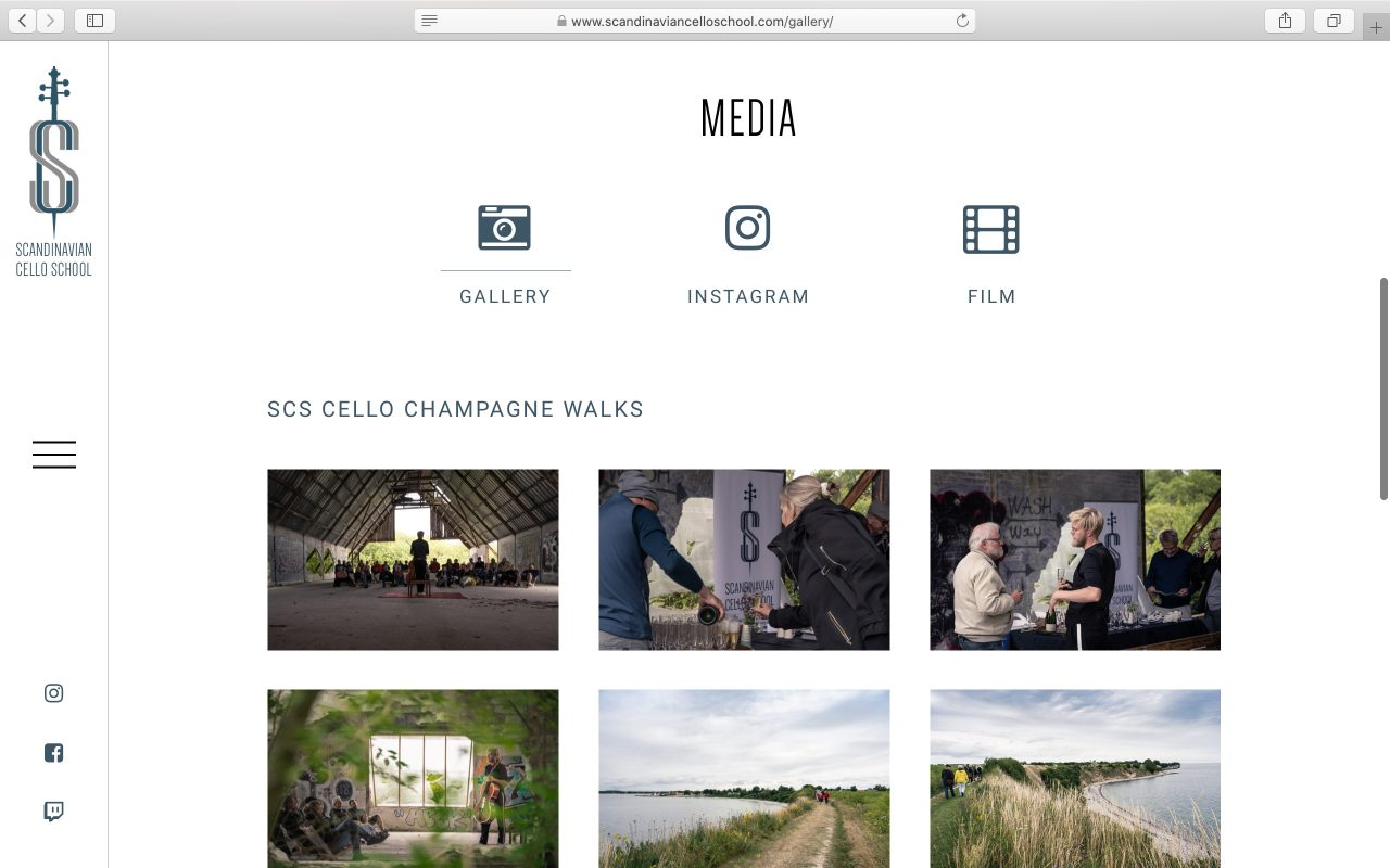 Kilmulis design Scandinavian Cello School website 07