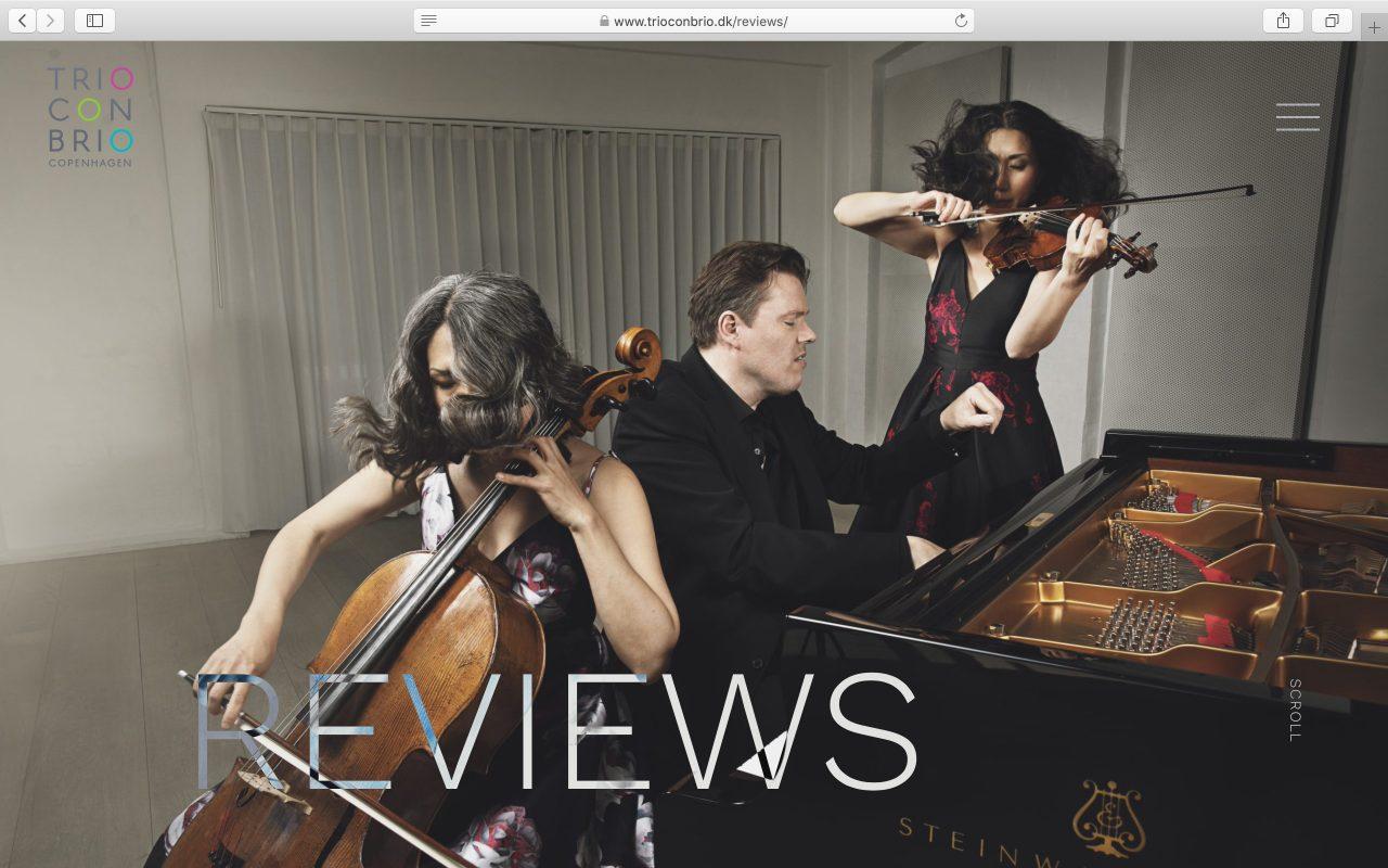 Kilmulis design Trio Con Brio Copenhagen website 01